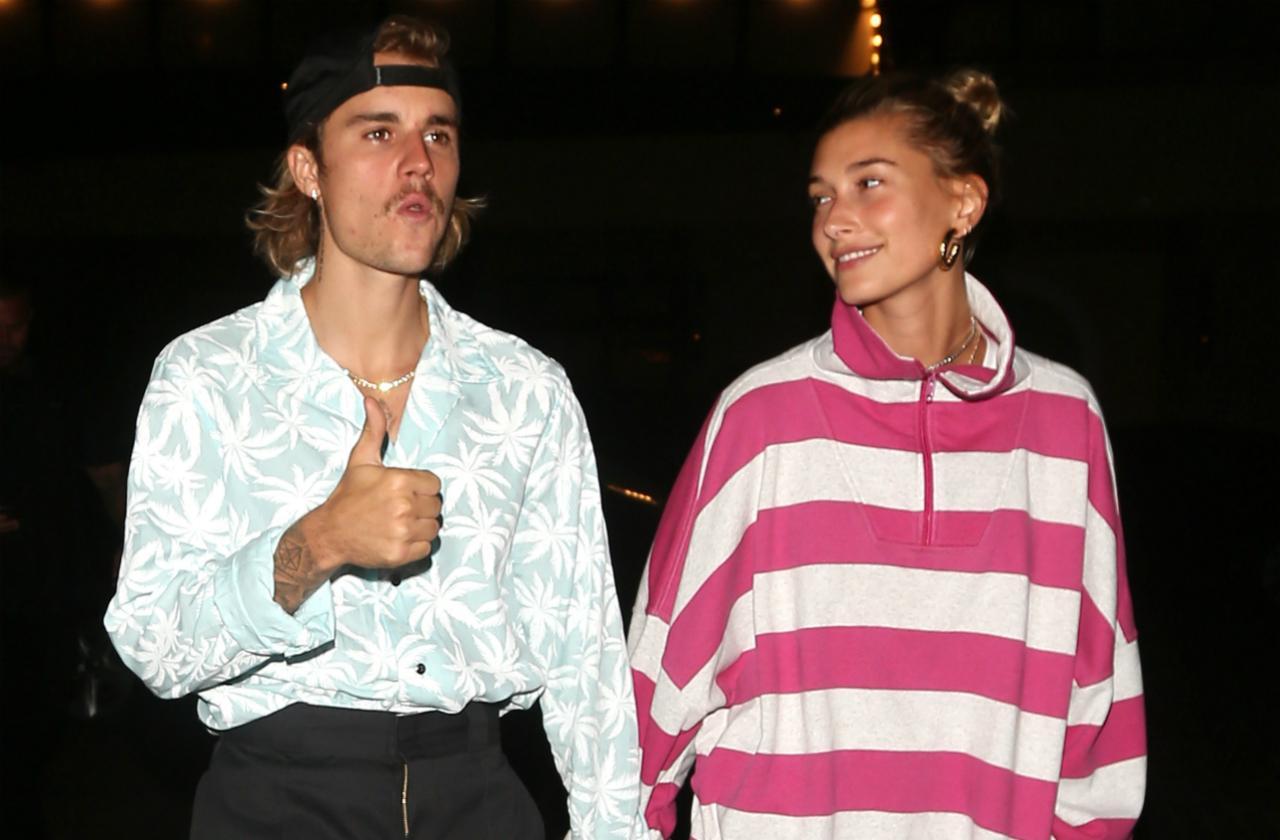 Newlyweds! Justin Bieber and Hailey Baldwin enjoy some quality time.