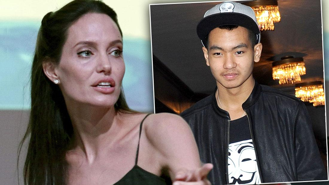 Angelina Jolie Devastated Over Empty Nest After Maddox Decides To Leave Home!