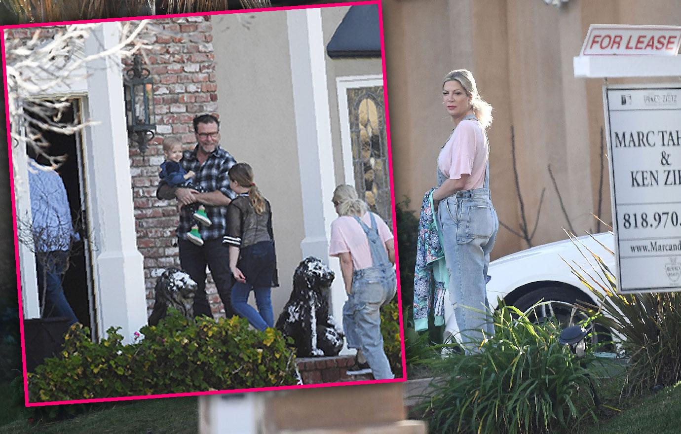 Tori Spelling And Dean Go House Hunting