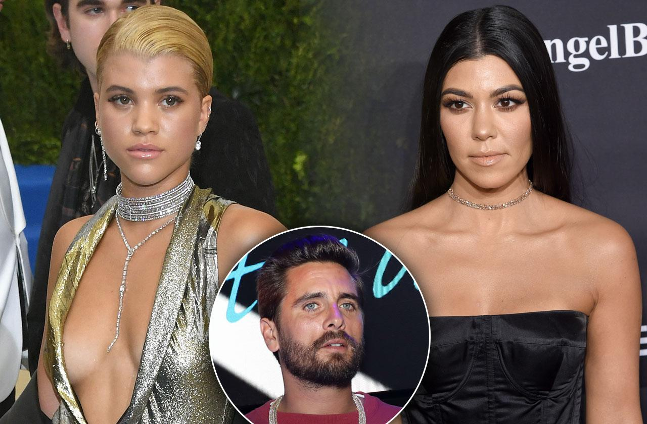 Sofia Richie Kourtney Kardashian Feud