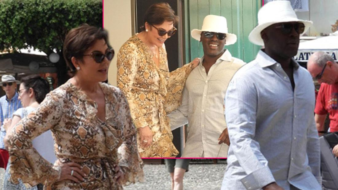 Kris Jenner On Portofino Vacation With Boyfriend Corey Gamble