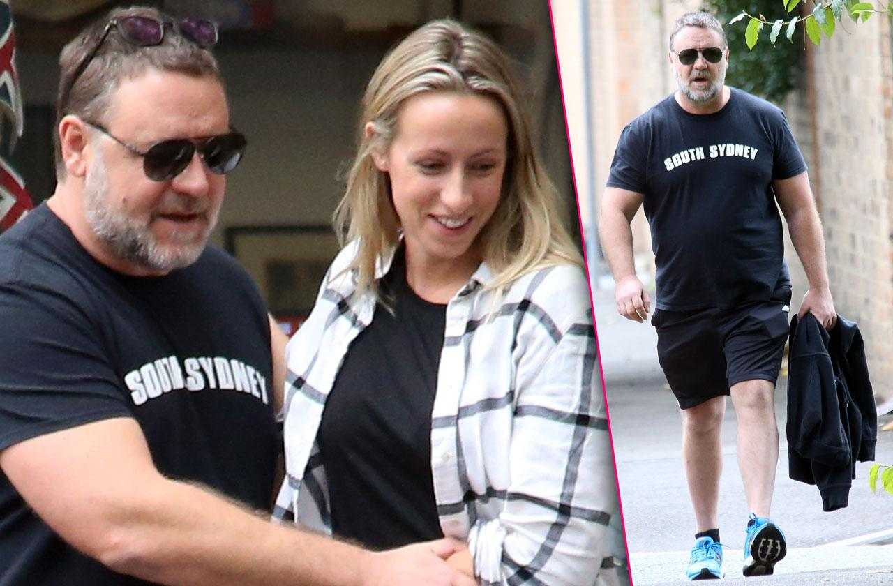 Russell Crowe Fat Weight Gain Gym