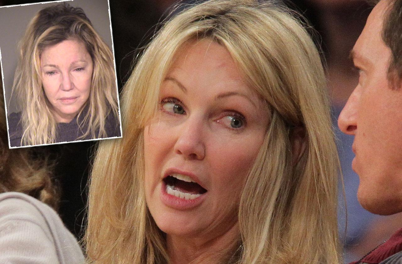 Heather Locklear Arrest Details
