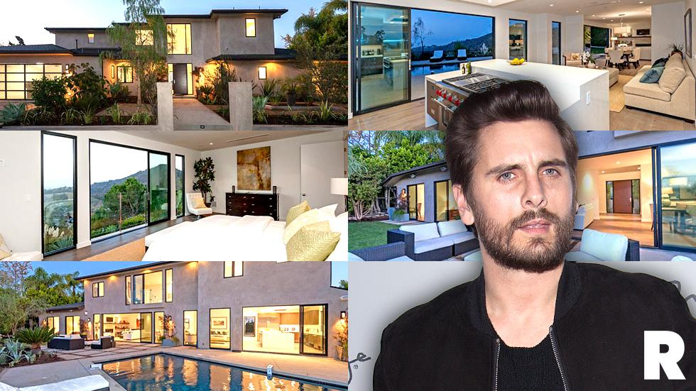 Scott Disick Upgrades His Beverly Hills Bachelor Pad