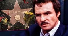 Burt Reynolds Hollywood Star Flowers Death