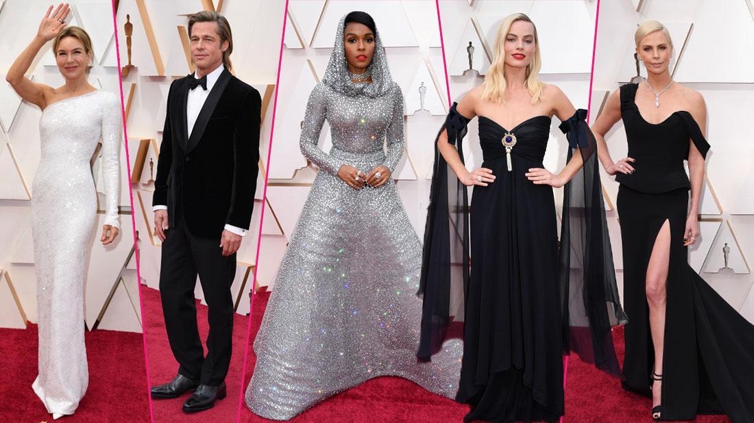 Academy Awards Oscars 2020 Red Carpet Celebrity Arrivals