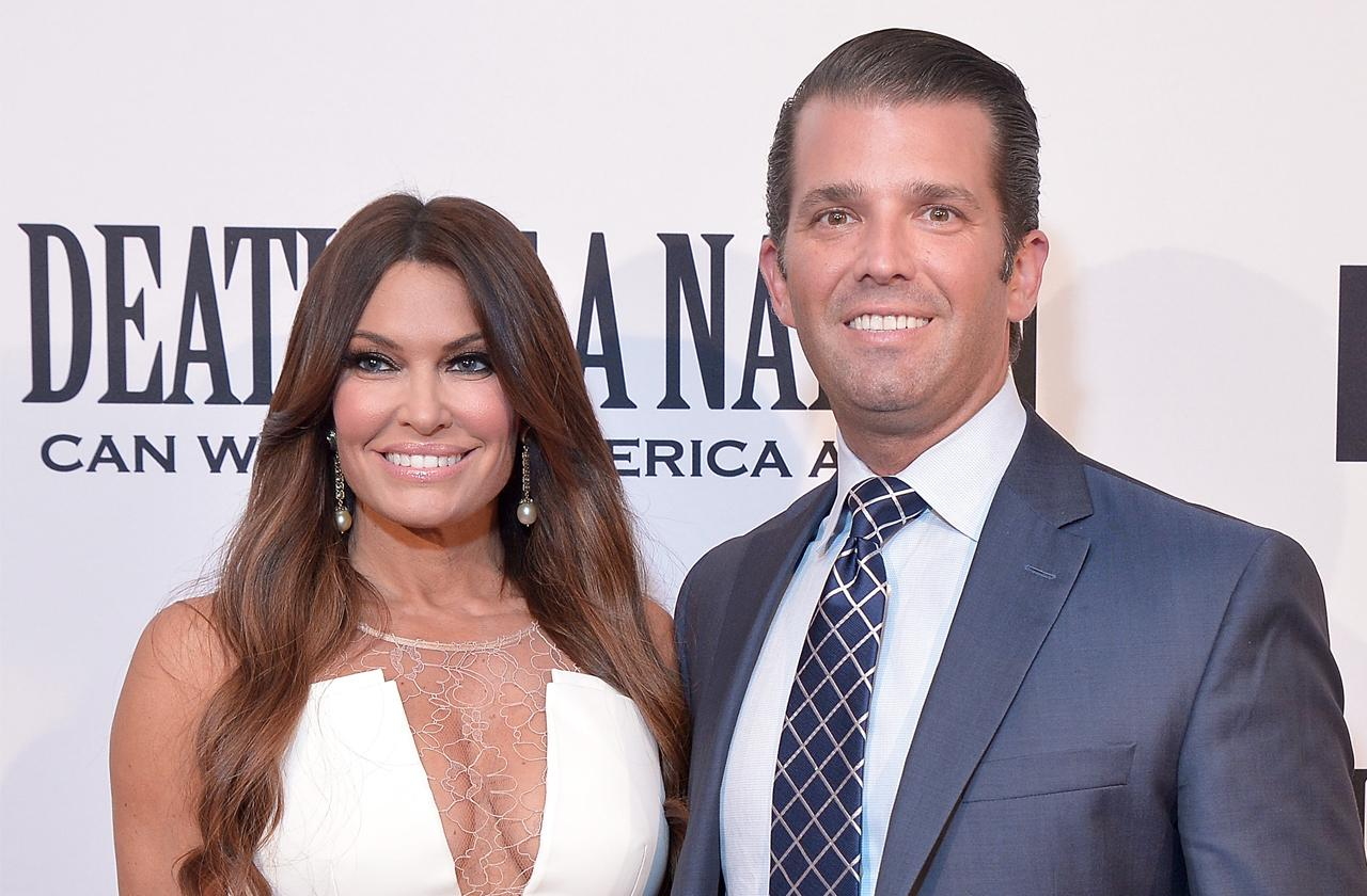 //donald trump jnr and Kimberly guilfoyle go alligator hunting pp
