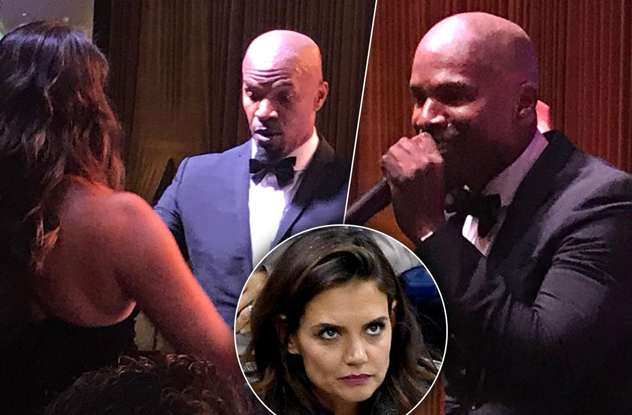 //Jamie Foxx parties without katie holmes pp