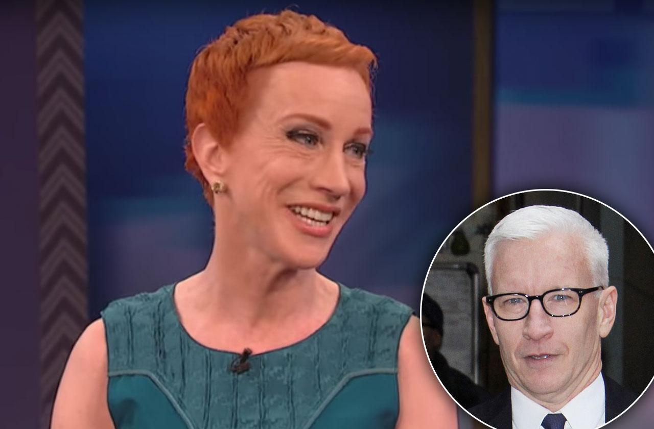 Anderson Cooper Wont Apologize Kathy Griffin