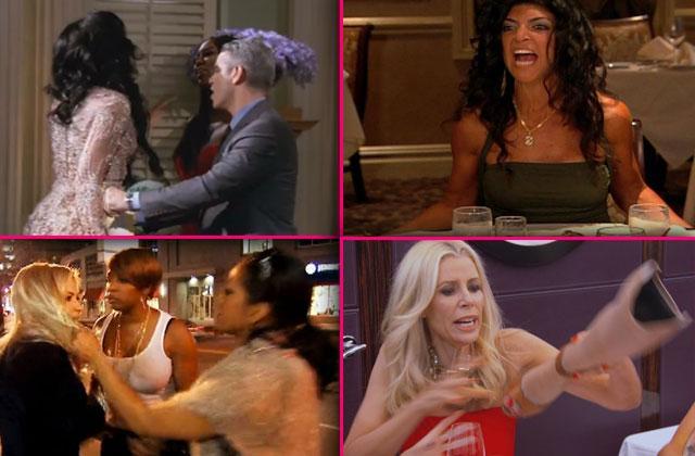 real housewives feuds fights rhony rhoc rhoa rhobh bethenny frnakel vicki gunvalson