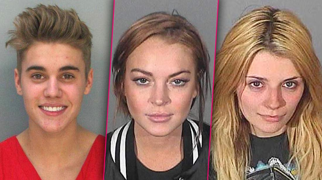 Greatest Celebrity Mugshots Of All Time