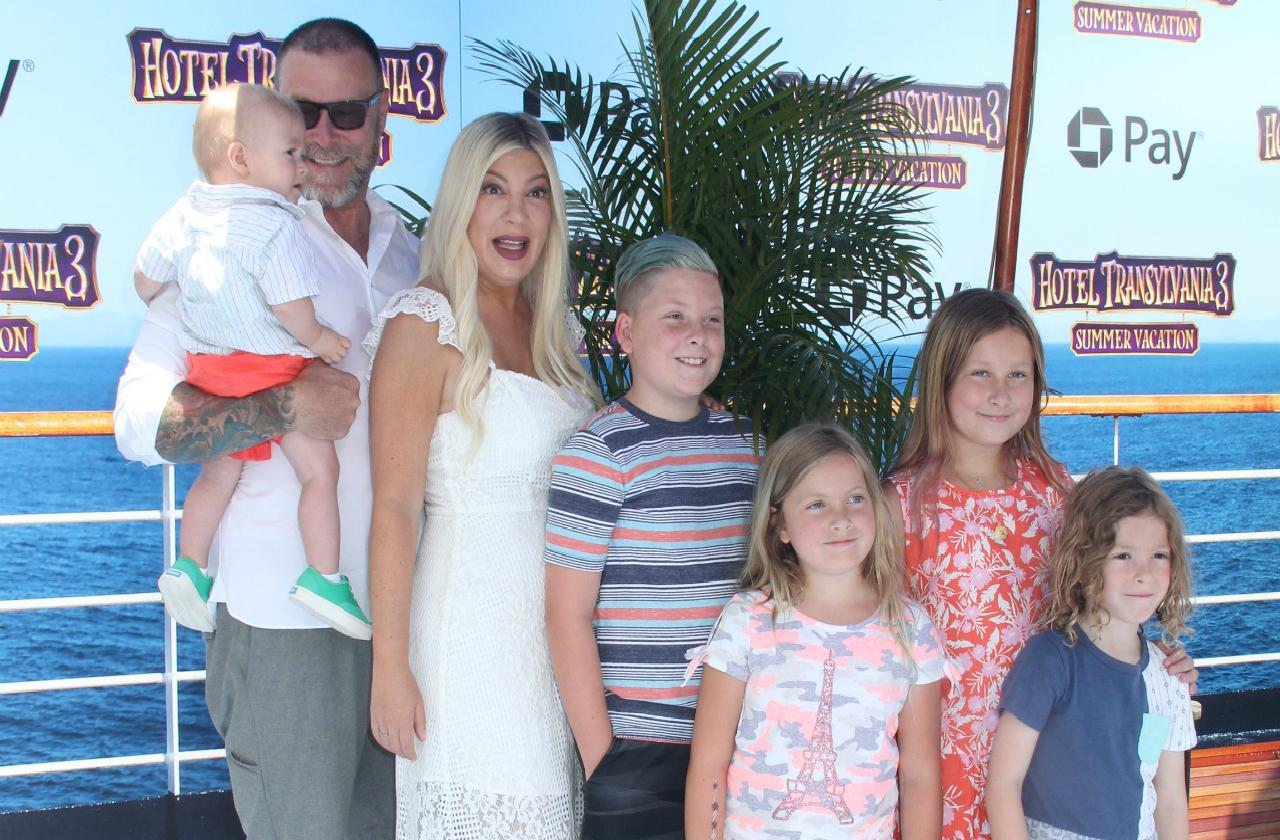 Tori Spelling and Dean McDermott have a bevy of reality TV babies