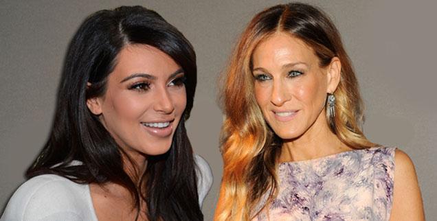 //kim kardashian sarah jessica parker wide getty