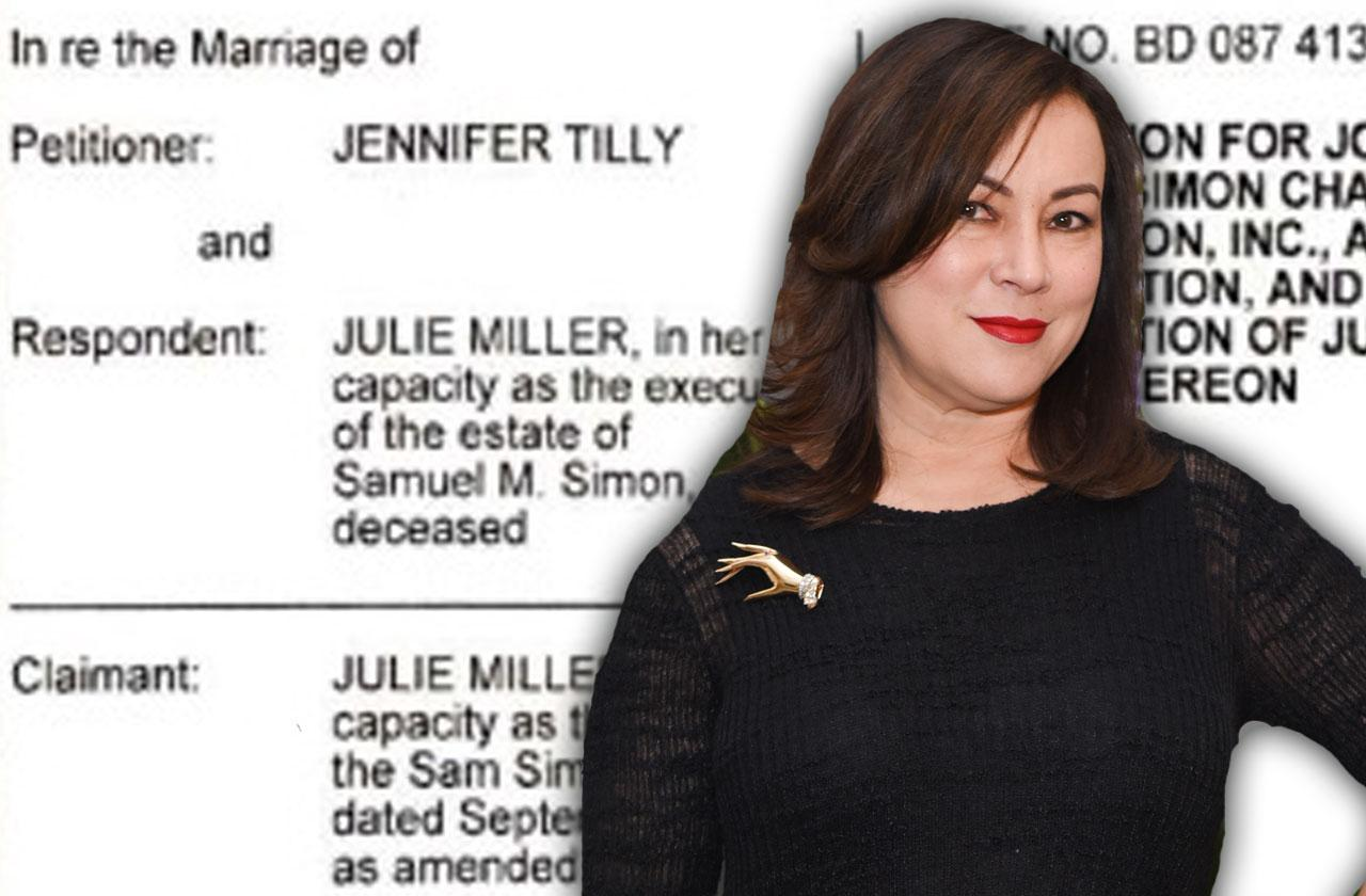 //jennifer tilly simpsons earnings agreement pp