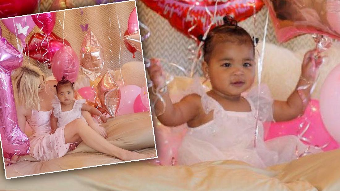 True Celebrates First Birthday With Mama Khloe