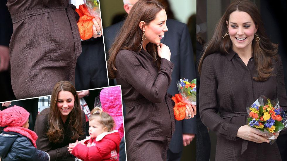 Kate Middleton Baby Bump