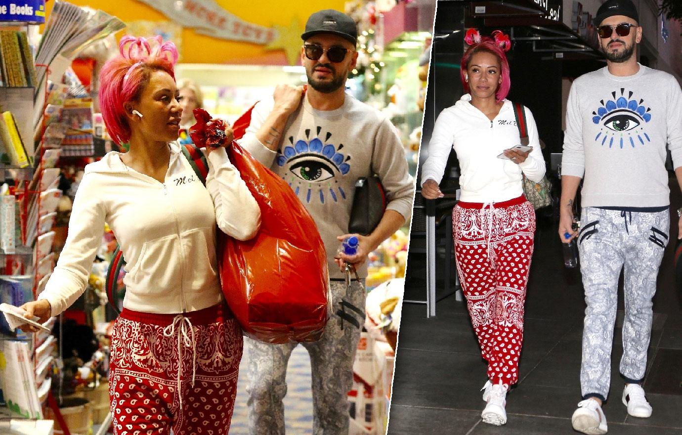 Mel B Out With Rumored Hairdresser Beau