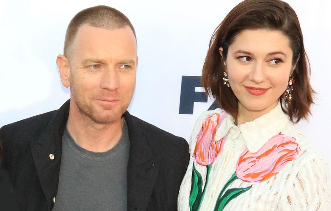 Ewan McGregor Wife Eve Mavrakis Unaware Mary Elizabeth Winstead Split