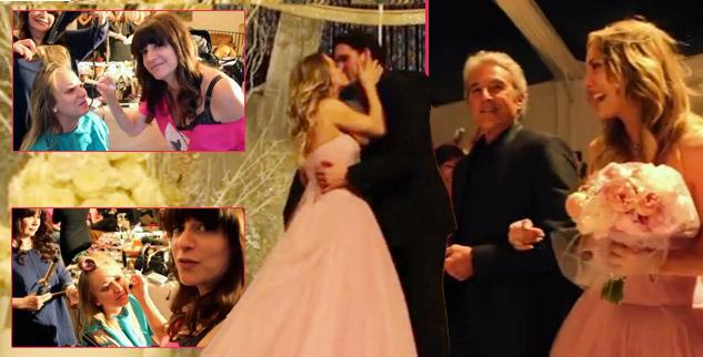 ehind-The-Scenes Of Kaley Cuoco's New Years Eve Wedding