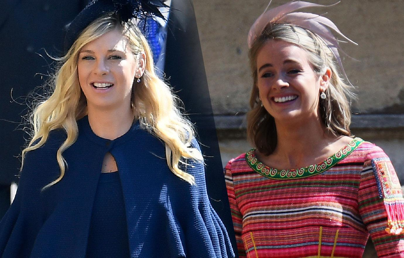 royal wedding prince harry ex girlfriend cressida bonas chelsy davy
