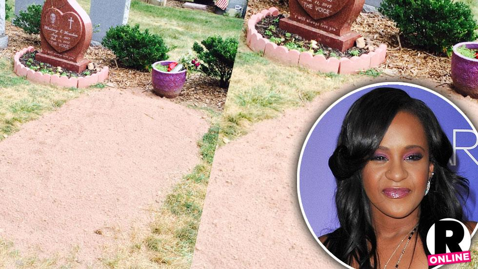 Bobbi Kristina Brown Grave Photos