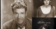 //vintage celebrity mugshots wenn