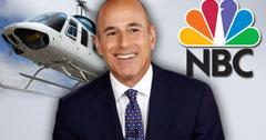 //matt lauer helicopter nbc
