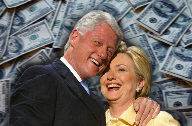 clintons earned enormous sum million speeches