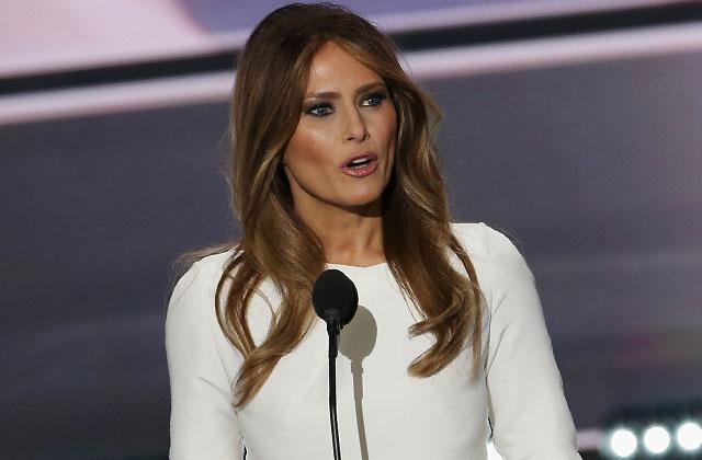 Melania Trump Speech Plagiarism Donald Defends Wife