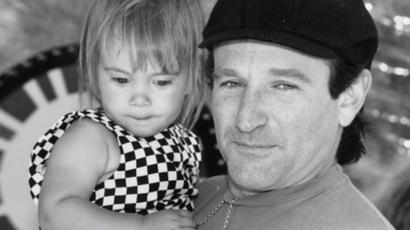 //robin williams last message daughter pp