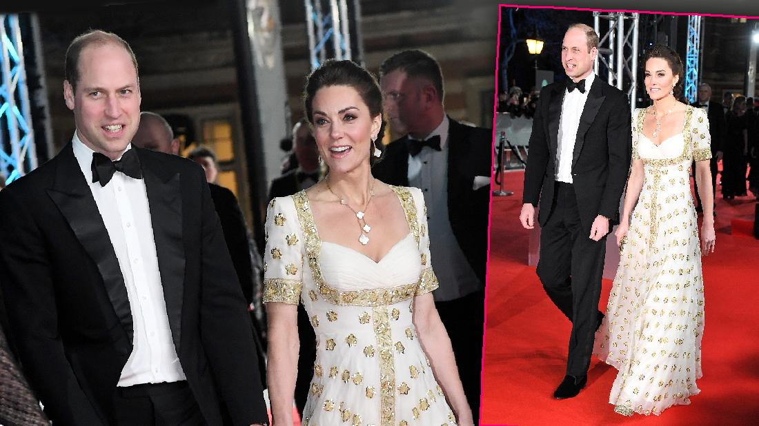 Will And Kate Lead Celebs At BAFTA Awards