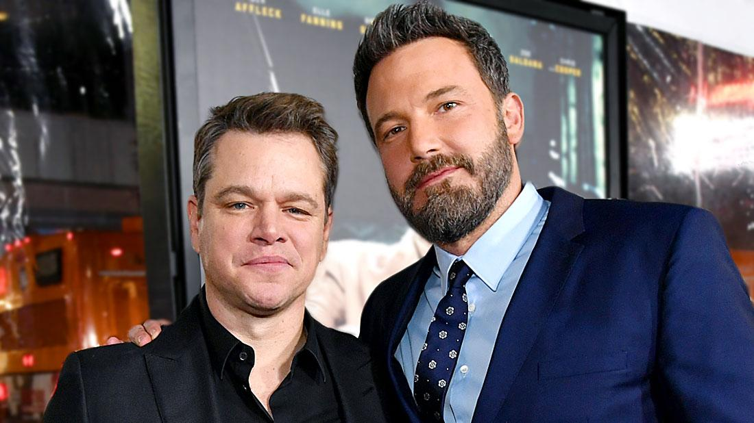 Sober Decision Matt Damon Refuses To Drink Around Ben Affleck