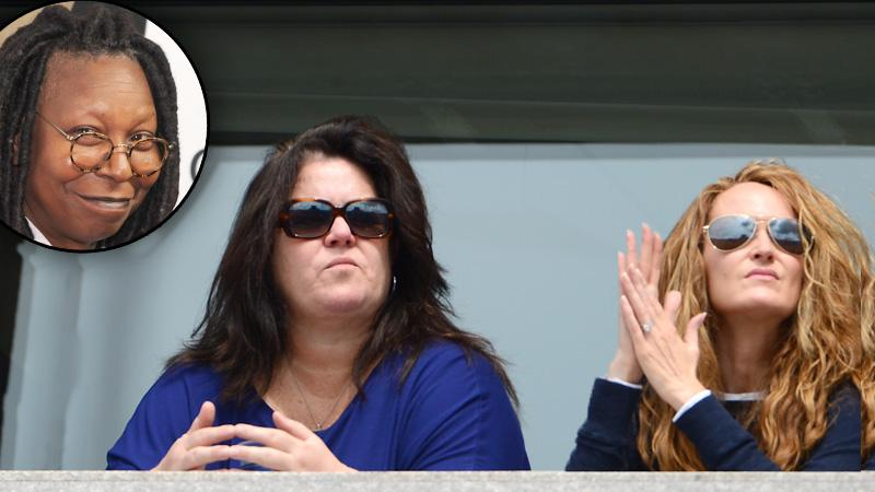 Rosie O'Donnell Michelle Rounds Marriage Issues