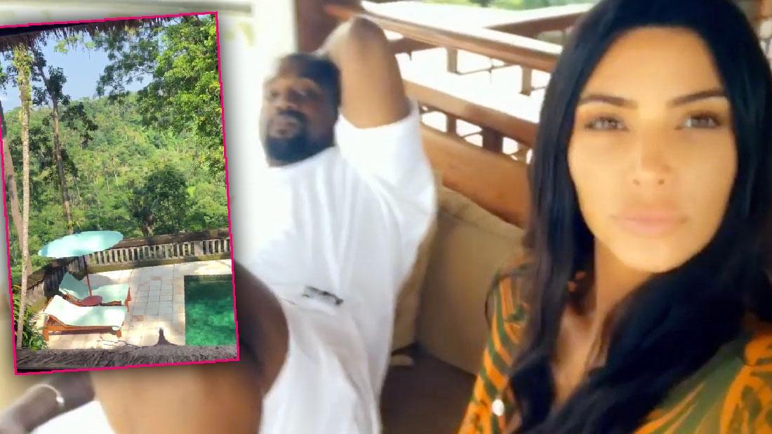Kim Kardashian And Kanye West Share Bali Photographs