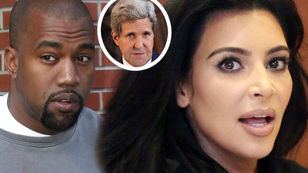 Kanye West Kim Kardashian 'Zoolander 2' Security