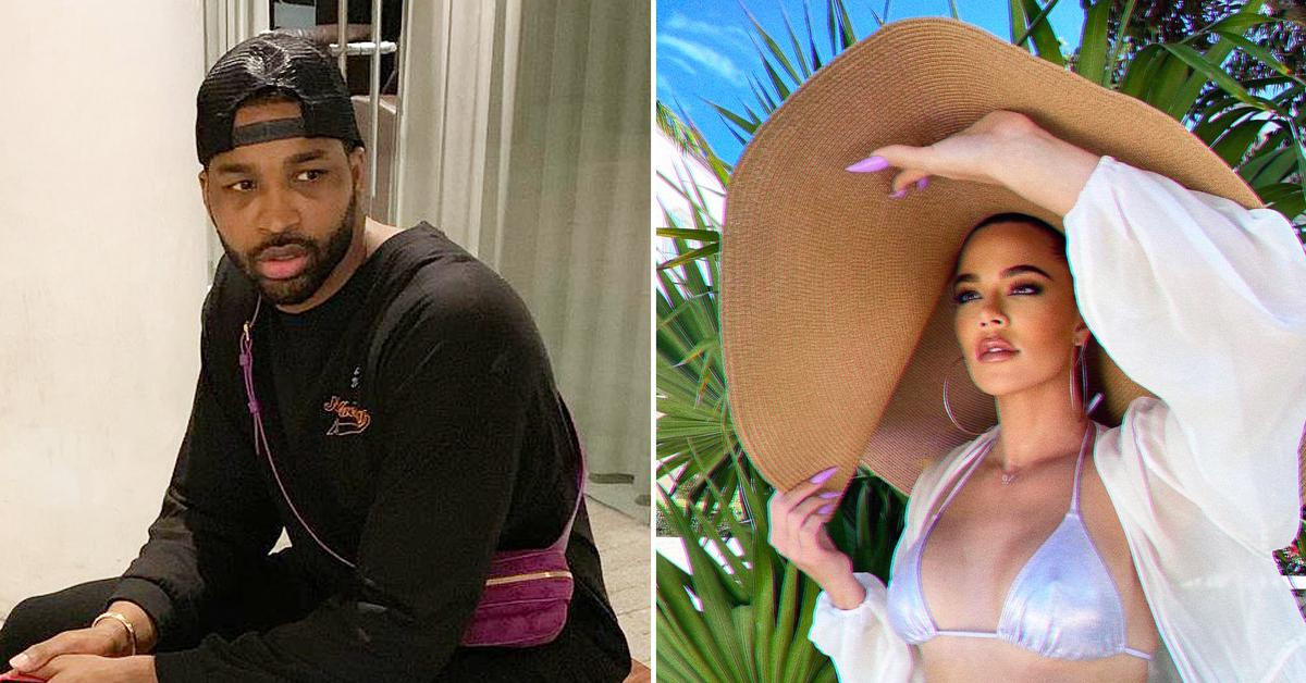tristan thompson likes khloe kardashian instagram post cheating scandal sydney chase r