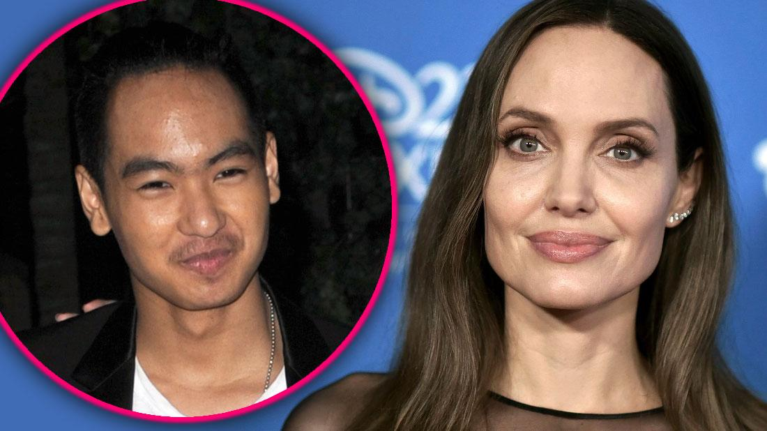 Angelina Jolie Not Feeling Strong After Maddox In College