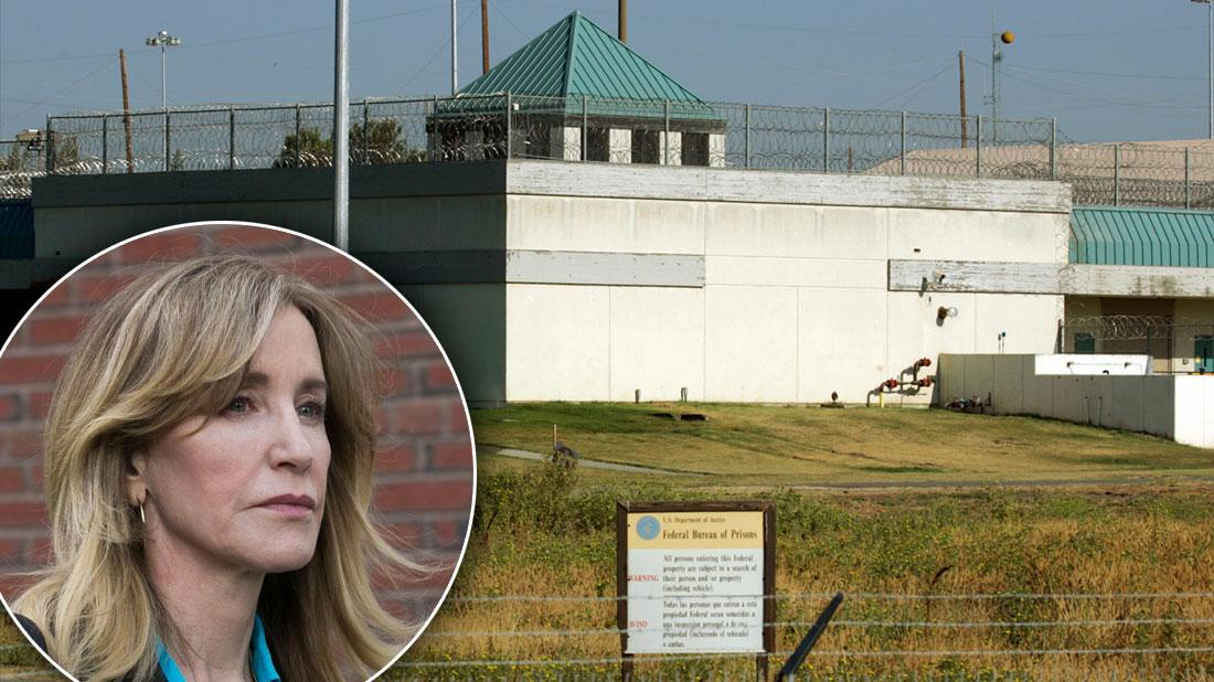 Cried In A Cage & Hardly Ate! Felicity Huffman A Shattered Wreck Behind Bars