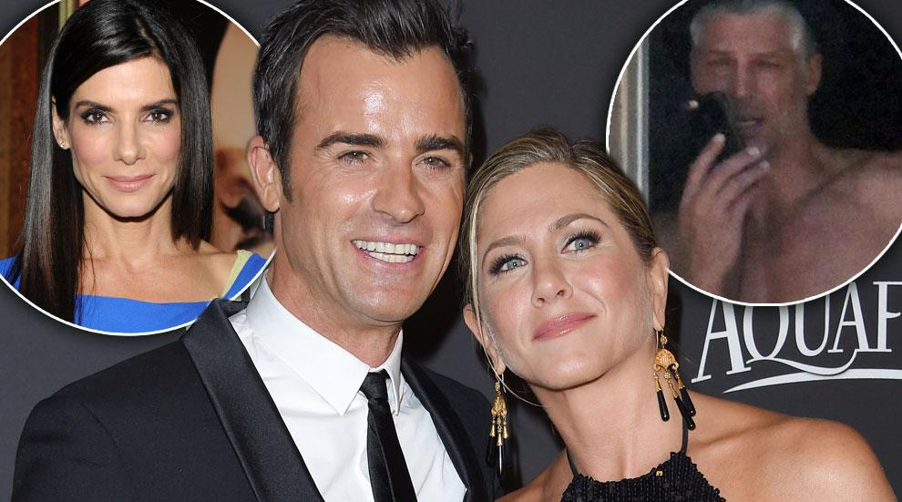 Bryan Randall Sandra Bullock Double Date Jennifer Aniston Justin Theroux