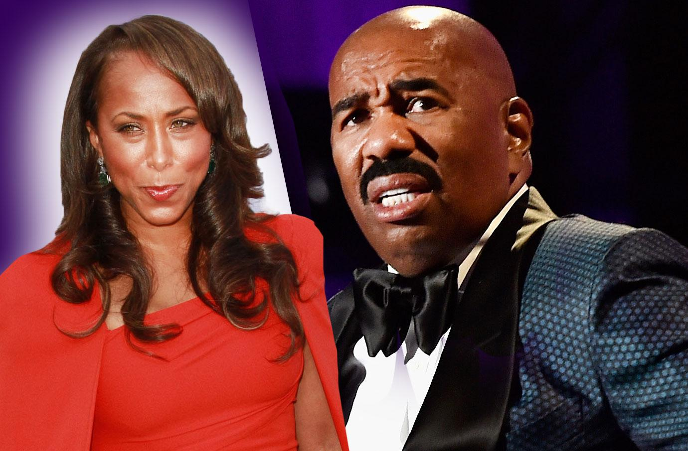 Steve Harvey Fights To Save Marriage Amid Scandals