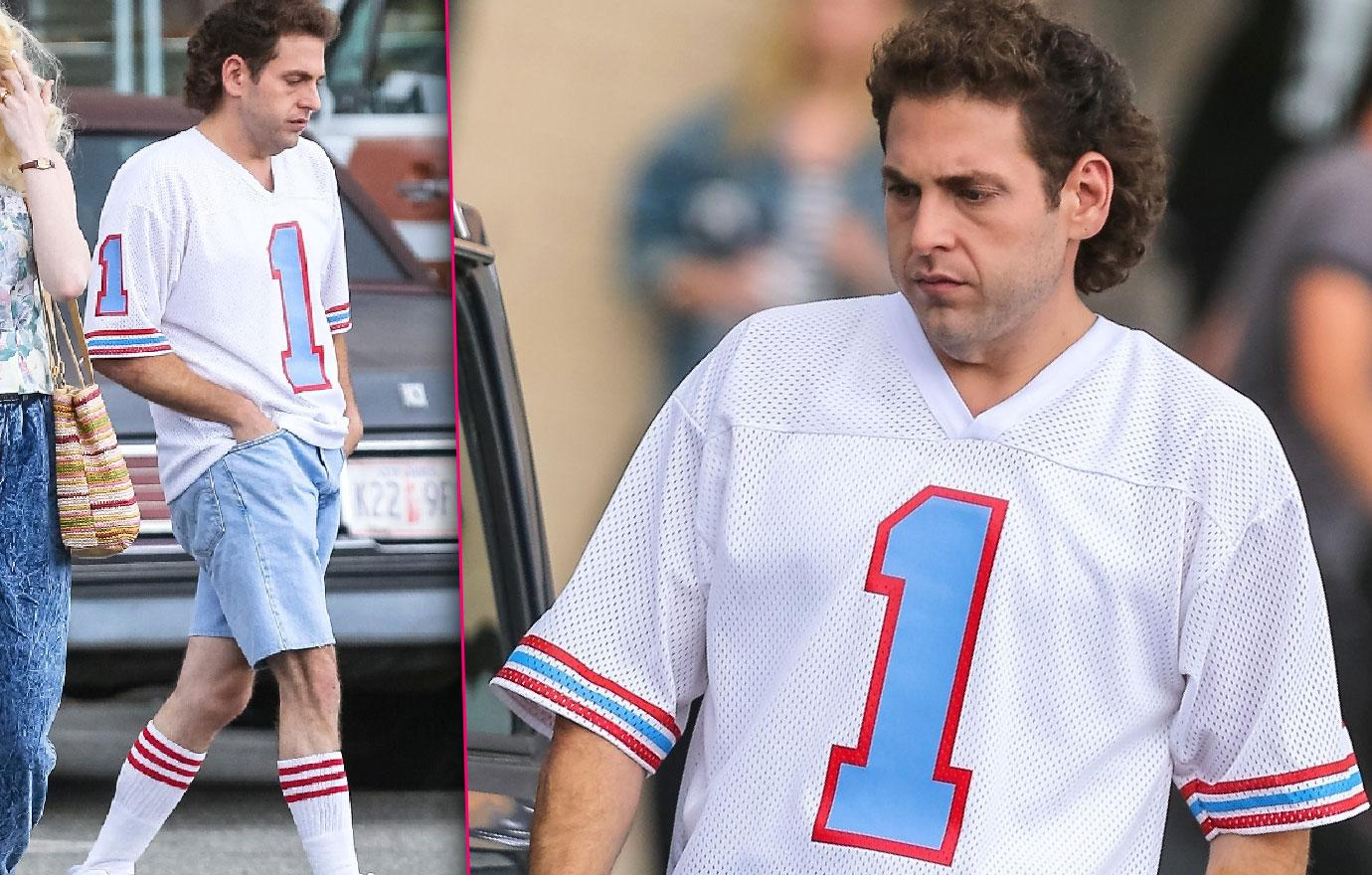 Jonah Hill Weight Loss Unrecognizable On Movie Set