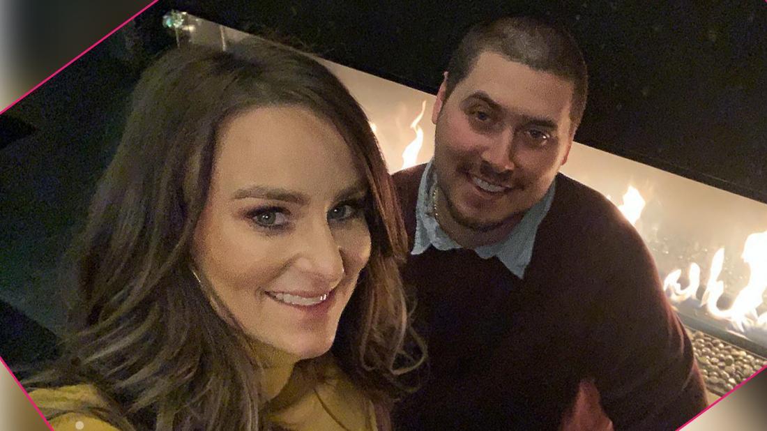 Leah Messer and Jeremy Calvert take a selfie.