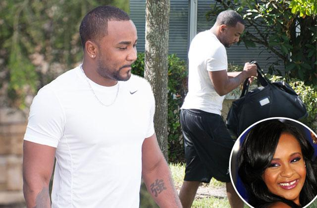 //nick gordon spotted after losing bobbi kristina brown wrongful death lawsuit pp