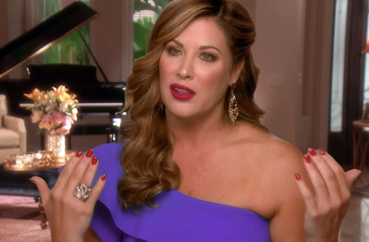 //RHOC Recap Emily Simpson Almost Died Suffered Five Miscarriages In Four Years pp