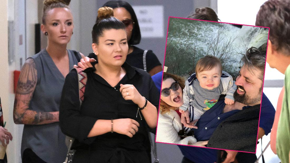 amber portwood court room appearance