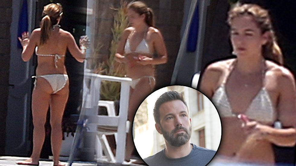 Ben Affleck Nanny Cheating Scandal Christine Ouzounian Bikini