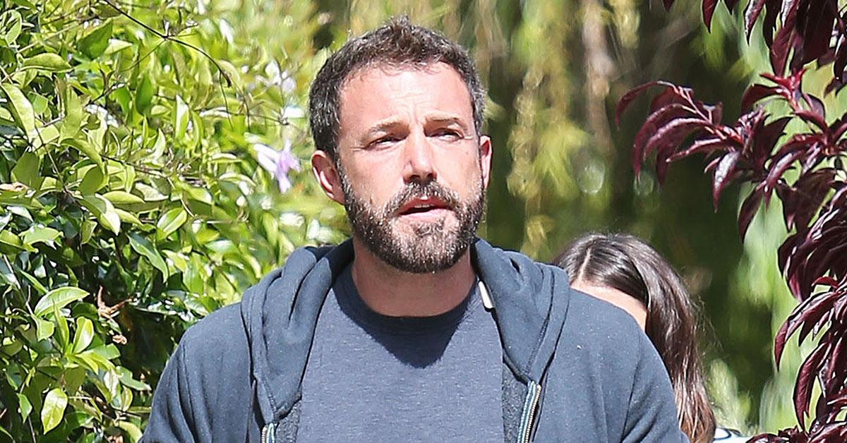 ben affleck home intruder photos cops called jennifer lopez r