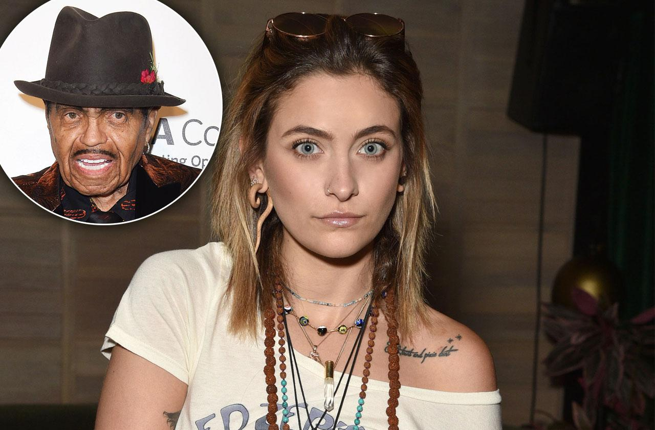 Paris Jackson Photo Tribute Grandpa Joe Death