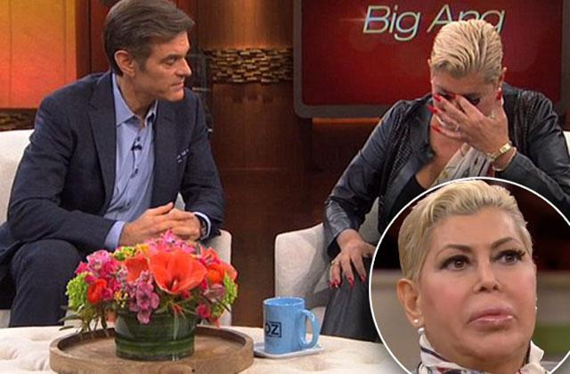 //big ang death cancer dr oz show interview pp