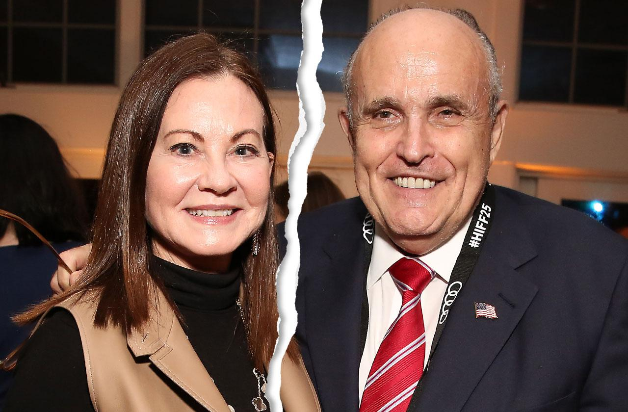 //former new york mayor rudy giuliani wife judith divorce pp
